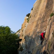 Rock Climbing Dalkey Quarry