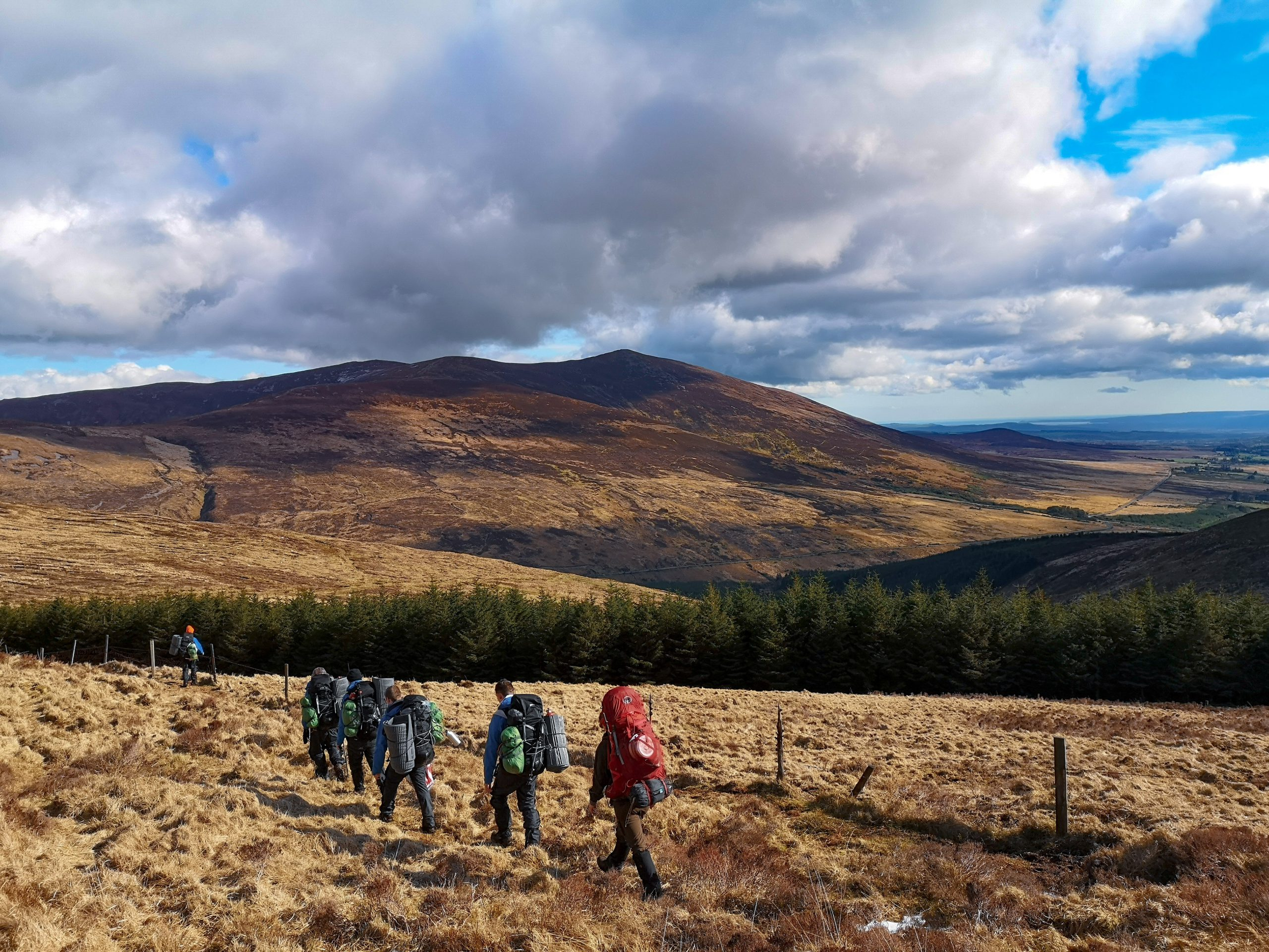 Hiking Trips Wicklow Mountains
