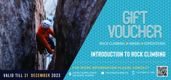 Rock Climbing Introduction Course Dublin